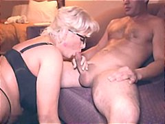 glasses, oral, blonde, milf, blowjob