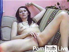 natural boobs, tease, fingering,