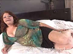older mature with big tits gets banged