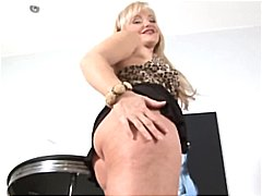 Mature older blonde an...