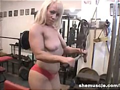 granny, muscled, fetish, older, milf