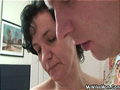 Nuvid - Granny seduced by her daughter hubby
