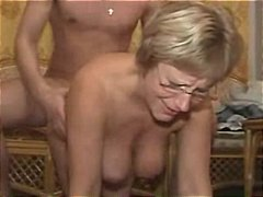 cumshot, hardcore, tease, fingering, amateur, granny, rubbing, close up, blowjob, pussy, home made, hairy, panties, mature, ass, titty fuck, glasses, doggystyle, tits