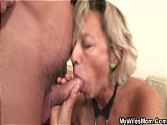reality, blowjob, mature, granny,