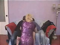 Nuvid - Mature Broad Gets Lucky In Group Bang