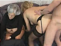 group sex, double fucking, mature