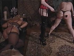 kinky, slave, bdsm, lingerie, bondage, stockings, pantyhose, fetish, lesbian