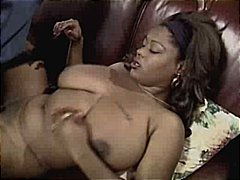Busty Ebony Get's Lonely video