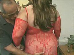 Nuvid Movie:Big Big Bitch In Red Lingerie