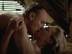 Amy Locane and Dennis Hopper in Carri...