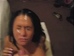 compilation, amateur, facial,