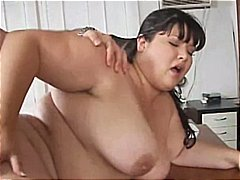 blowjob, interracial, cum swallowing, cumshot, asian, sex, bbw, hardcore