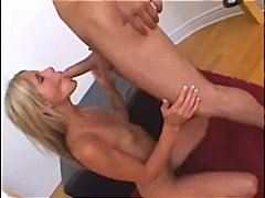 Tight flexible blonde gets fucks hard...