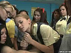 Nuvid Movie:Schoolgirl Rides Until He Cums