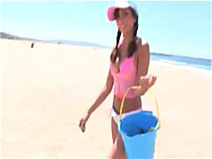 Lela Star Pick Up At The Beach And Fucked