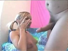 facial, blonde, blowjob, hardcore,