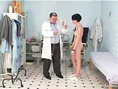 czech, medical, uniform, big tits, gyno exam, bizarre, pussy, boobs, rectal exam, speculum, tampon, weird, doctor, hospital, babe