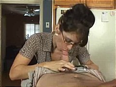 glasses, ass, milf, cumshot, blowjob, sex