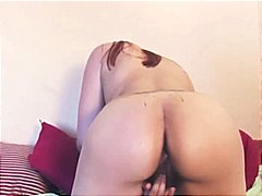 hairy, big tits, masturbating,