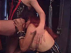 tranny, latex, bdsm, slave,