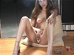 Smoking fetish masturb...