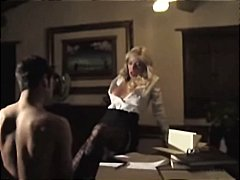 housewife, blonde, wife, cougar, blowjob