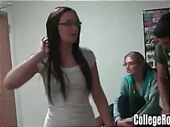 Broken Hearted College Girl Gets Reve...