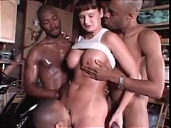 Kamie Andrews fucked by black guys