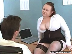 Big Tits Boss Nikki Punishes Porn Wat...