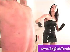 Disobedient slave gets serious cp and...