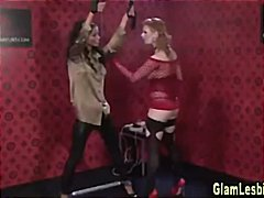 Tube8 Movie:Glamour lesbian domination play