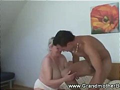 Granny wants his hard ...
