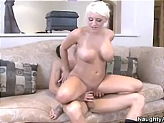 huge, fucks, rough sex, blonde