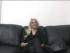 swallow, casting, couch, pov