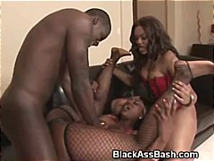doggystyle, threesome, ebony black