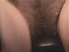 Attractive busty granny with hairy pu...