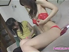 Thumb: Asian Girl Masturbatin...
