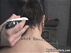bdsm, tied, hardcore, tattooing