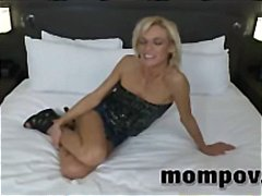 sexy, housewife, time, mom, older