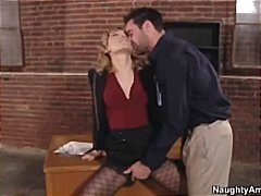 naughty, lily labeau, office