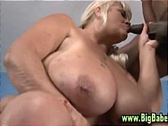 Bbw fat plumper strip and blowjob