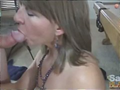 mature, housewife, brunette, creampie