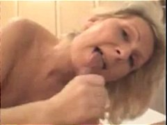 Mom loves to blow and ...