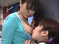 Asian Girl Milking Her Tits Getting H...