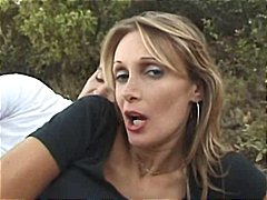 Bushy French Mature Anal Fucked Outdoor