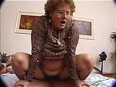 cumshot, hairy, blowjob, granny, brunette, amateur, facial, mature, glasses