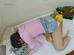 Asian Girl Fucks Her Teddy Bear To Orgasm