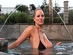 tits, busty, wife, wet, milf, outdoor,