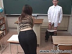 Asian teacher plays with s... - 05:10