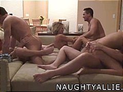 wife, amateur, group sex, real,